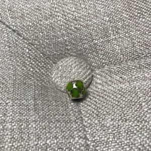 Authentic Pandora green butterfly charm